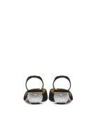 Paul Andrew Crystal-heel Slingback Pumps - Nero
