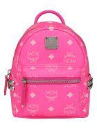 MCM Stark Backpack - Neon pink