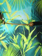 Versace Square Buckle Belt - NERO