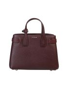 Burberry Small Banner Bag - Bordeaux