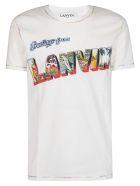 Lanvin Printed T-shirt - White