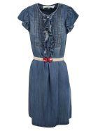 Elisabetta Franchi Celyn B. Elisabetta Franchi For Celyn B. Ruffle Detail Dress - Blue