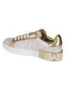 Dolce & Gabbana Logo Sneakers - pearl light grey