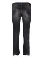 R13 5-pocket Straight-leg Jeans - black