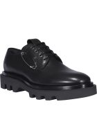 Givenchy Derby Combat Lace Up Shoes - Nero
