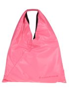 MM6 Maison Margiela Mm6 Japanese Medium Vinyl Bag - PINK