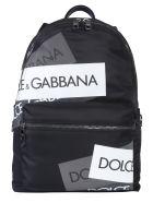 Dolce & Gabbana Volcano Backpack - NERO