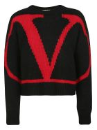 Valentino Logo Sweater - Nr