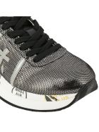 Premiata Sneakers Conny Premiata Sneakers In Fabric With Laminated Effect - black