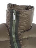 Sacai Padded Jacket W/zip - Khaki
