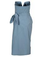 Maison Margiela Martin Margiela Bustier Dress - LIGHT BLUE