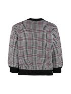 Boutique Moschino Prince Of Wales Check Cardigan - Multicolor