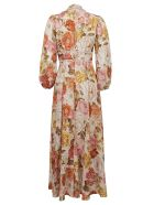 Zimmermann Bonita Long Sleeve Dress - Crf