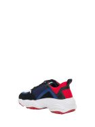 Pollini Sneaker With Platform Sole - Multicolor