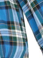 Rokh Checked Shirt - Mixed Blue Check