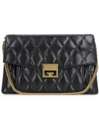 Givenchy Gv3 Quilted Leather Bag - black