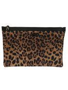 Dolce & Gabbana Leopard Clutch - leopard print