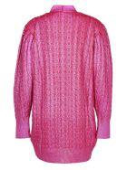 MSGM Sweater - Fuchsia/red