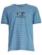 C.P. Company Striped Logo T-shirt - Basic