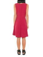Maison Kitsuné Asia Side Buttons Dress - Red