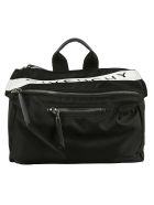 Givenchy Pandora Classic Messenger Shoulder Bag - Black White