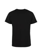 RED Valentino Logo Print T-shirt - black