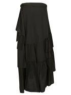 8PM Asymmetric Skirt - Black