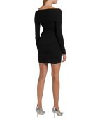 Alexandre Vauthier Stretch Jersey Wraped Dress - Nero