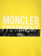 Moncler Fragment Moncler Fragment Logo Hoodie - YELLOW