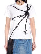 Junya Watanabe 'filo Spinato' T-shirt - White