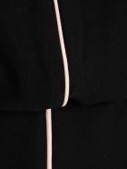 Emporio Armani Pipe Trimmed Dress - Nero