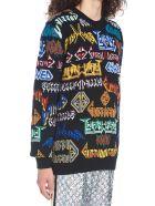 Gucci 'gucci Metal' Sweater - Multicolor