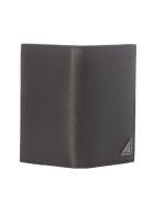 Prada Triangle Logo Wallet - Black