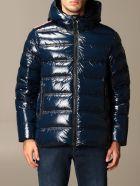 Rossignol Jacket Cesar Sh Rossignol Down Jacket In Shiny Nylon - Blue