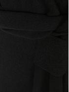 Bottega Veneta Intrecciato Knitted Dress - BLACK