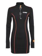 HERON PRESTON Dress - Black whit
