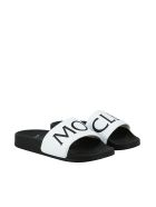 Moncler Jeanne Rubber Slippers - Bianco