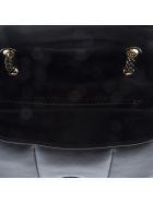 Salvatore Ferragamo Vara Soft Black Leather Shoulder Bag - Black