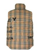 Burberry Vintage Check Recycled Polyester Puffer Gilet - Archive Beige