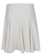 Off-White Cheerleader Mini Skirt White No Color - White
