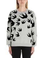 McQ Alexander McQueen 'swallow' Sweatshirt - Grey