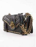 Bottega Veneta Catena City Knot Shoulder Bag - Black