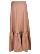 Weekend Max Mara Flared Applique Skirt - Basic