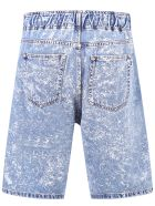 MSGM Bermuda Shorts - Blu Denim