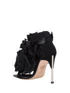 Alexander McQueen Embellished Sandals - Nero