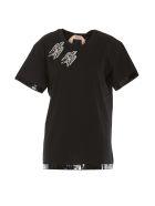 N.21 Swallow Jewel T-shirt - Nero