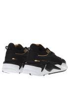 Puma Select Puma Rs X Trophy Black Mesh Sneakers - Black