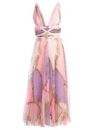 Versace Collection Pleated Dress - Rosa St