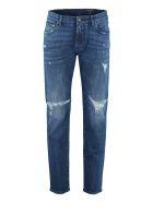Dolce & Gabbana 5-pocket Slim Fit Jeans - Denim