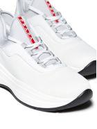 Prada Linea Rossa Sneakers - Bianco alluminio